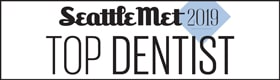 Seattle Met Top Dentists Badge