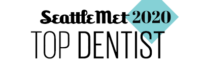 Seattle Met Top Dentist Badge 1