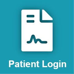 mobile patient login homepage
