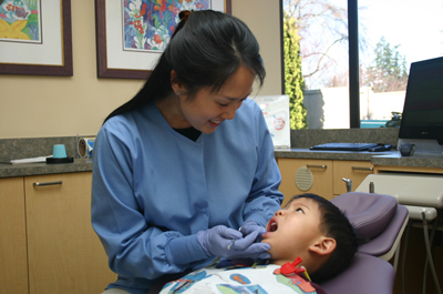 redmond pediatric dentist alex