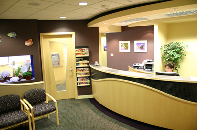 redmond pediatric dentist waitingroom